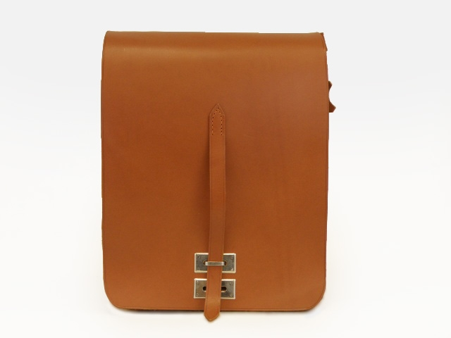 79e7a81f693ee Klasyczna torba raportówka skórzana, juchtowa, model 0032 Orso Nero ...